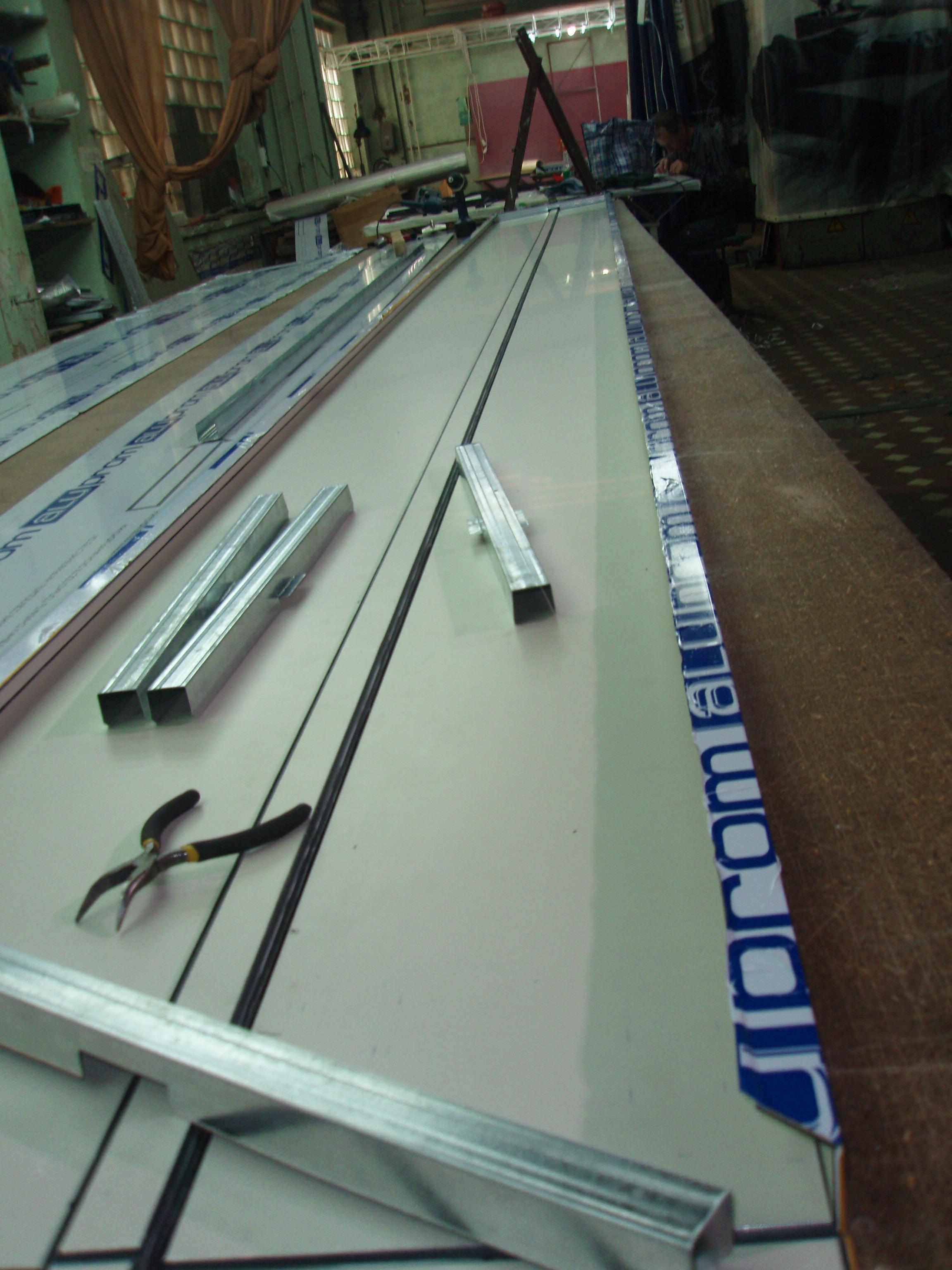 Сборка композитной панели
